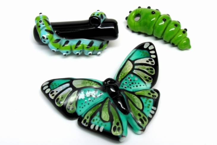 Margaret Zinser, Flutter and Buss in Flameworking