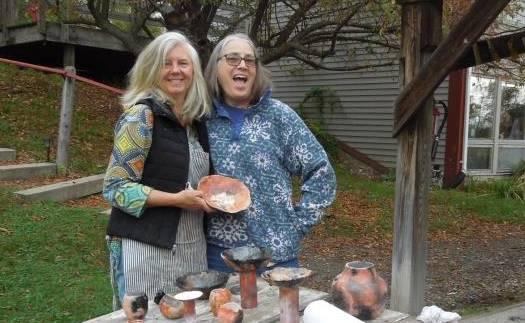 ceramics workshop, raku firing