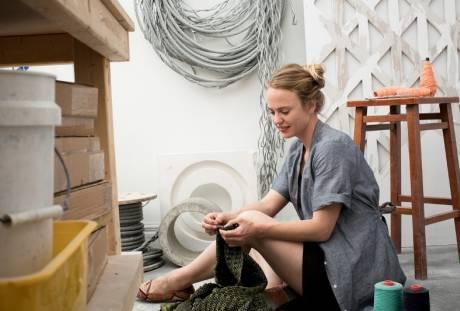 Fiber & Baskets. Crystal Gregory