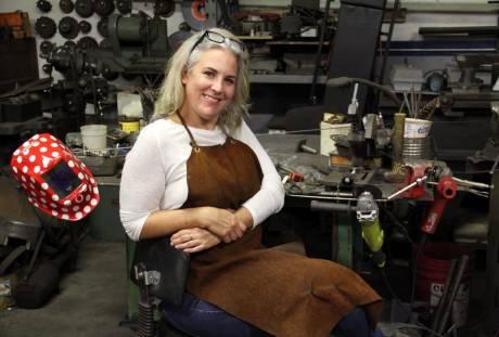Trisha Moody-Bourbeau, Welding