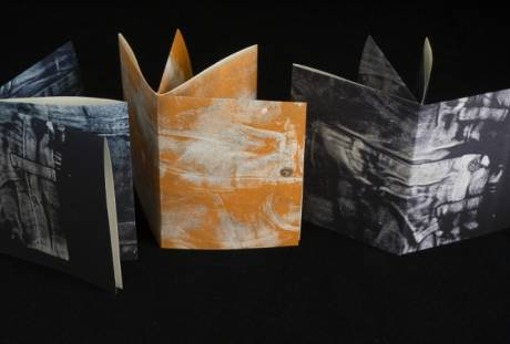 Fiber & Baskets. Esther White. Deconstructed Screen Printing on Fabric