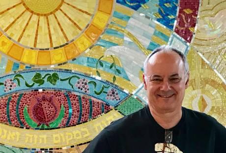 joshua winer, mosaic artist, boston artist