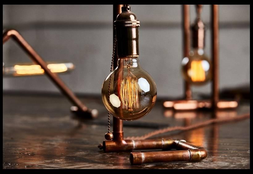 Christopher Jeffries, Design &  Build a Custom Copper Lamp, Welding
