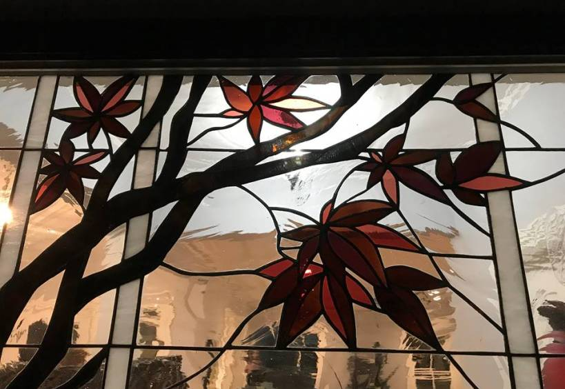 stainded glass window from This Old House