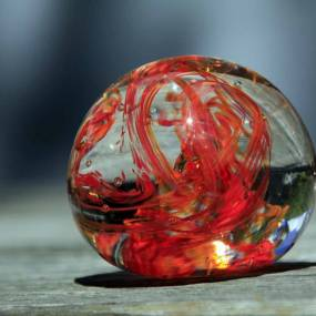 glassblown paperweight
