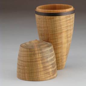 Woodworking. Rick Angus. Woodturning: Lidded Boxes