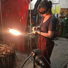Mary Kate Cleary, Welding