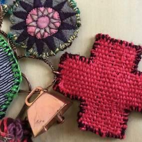 Jodi Colella, Fiber Jewelry