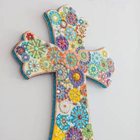 Mosaics. Karen Giarusso. Beaded Mosaics
