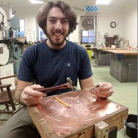 Metalsmithing & Jewelry. Martin Moon