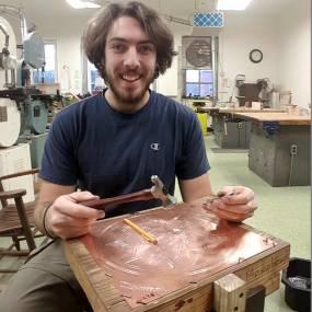 Metalsmithing & Jewelry. Martin Moon
