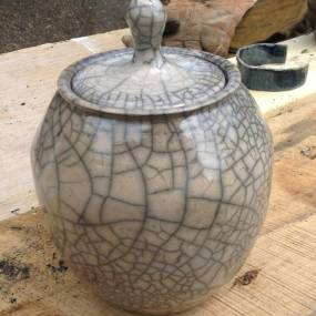 raku firing, high school ceramics