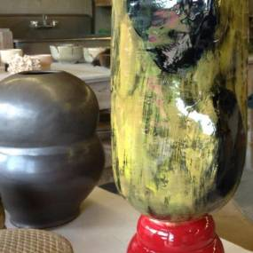 high school ceramics, handmade pottery