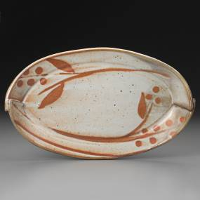 handbuilt pottery, pottery tray, tiffany hilton
