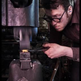 John Huckins, Welding