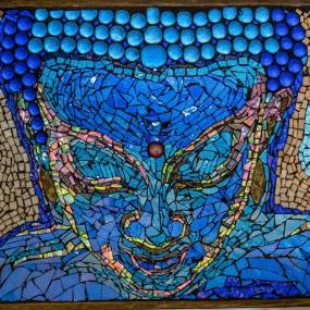 Sam Myers, Glass-on-Glass Mosaic
