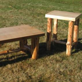 Woodworking. Mark Nicholson. Rustic Furniture