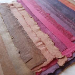 2D & Mixed Media. Radha Pandey. Indo-Islamic Papermaking & Bookbinding
