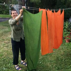 Michelle Parrish, Roots, Shoots, Leaves & Flowers: Local Plants to Dye For