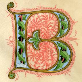 Rick Paulus, The Illuminated Letter, 2D, Mixed Media
