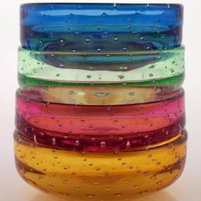 Elizabeth Potenza, Glassblowing: Bowls from Scandinavia