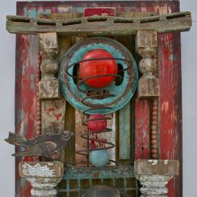 Abbie Rieser, Lost and Found:: The Art of Assemblage
