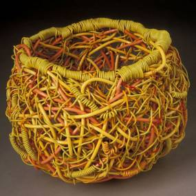 Lois Russell, The Ins and Outs of Random Weaving, Fiber and Baskets