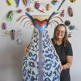 Fiber & Baskets. Elizabeth Whyte Schulze. Coiled Baskets Two Ways