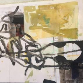 2D & Mixed Media. Alexandra Sheldon. Explorative & Painterly Collage