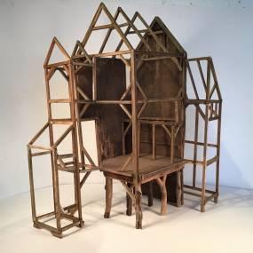 Ross Smart, Spirit Houses, Woodworking