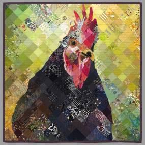 Timna Tarr, Stitched Mosaics, Fibers, Quilting