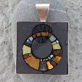 Metalsmithing & Jewelry. Casey Van Loon. Mosaic Jewelry