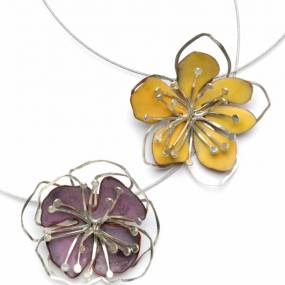 Paulette Werger, Metal Jewelry Inspired by the Garden