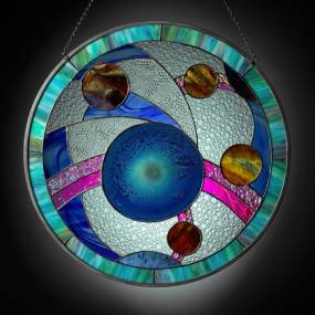 Glass. Dave Zaltzberg. Stained Glass