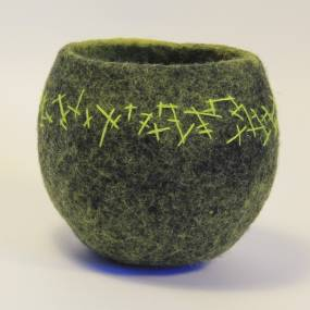 Fafnir Adamites, Fiber, Traditional Wet Felting