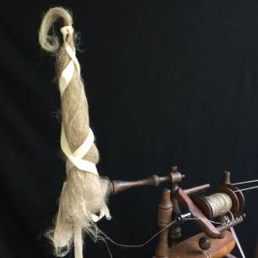 Fiber & Baskets. Cassie Dickson. Flax Plant to Linen Cloth