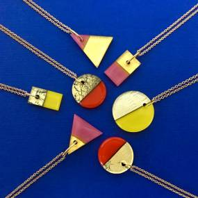 Michele Gotfredson, Geometric Glass Jewelry: Kilnformed and Coldworked