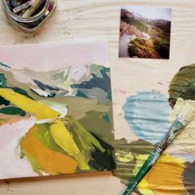 Amanda Hawkins, Nature in the Abstract