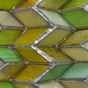 Michelle Hinebrook, Sculptural Forms in Stained Glass