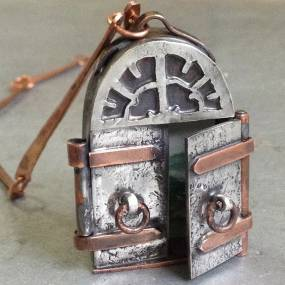 Rob Jackson, Fabricating a Narrative, From Lockets to Reliquaries, Metalsmithing and Jewelry