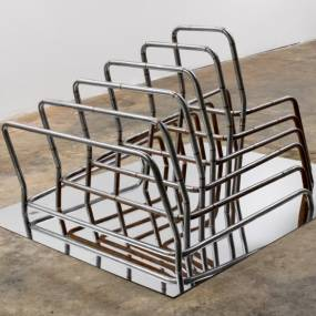 Holly Mailey Kelly, Sculptural Steel Furniture, Welding