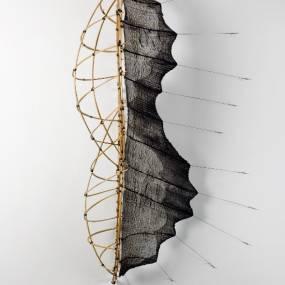 Fiber & Baskets. Mo Kelman. Skins & Skeletons: 3D Textile Constructions