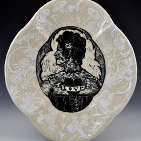 Kathy King, Let's Talk: Image and Text on Clay, Ceramics