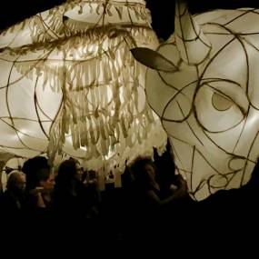 David Lane, Lantern Building and Performance Workshop, Fiber, Baskets