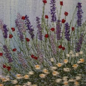 Fiber & Baskets. Susan Levi-Goerlich. Free Motion Machine Embroidery
