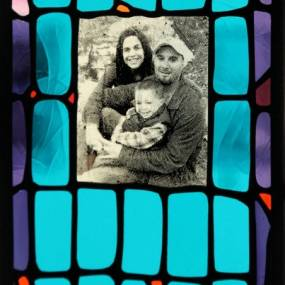 Stained Glass 101;Dan Maher; Student work