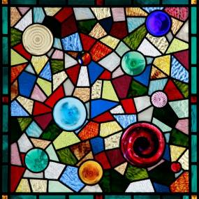 Dan Maher, Stained Glass with Fused Elements