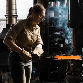 Alaina Mahoney, Welding