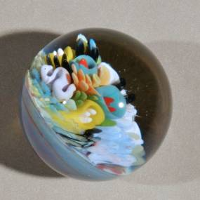Angela McHale, Tiny Planets: Explorations in Borosilicate Marbles, Flameworking