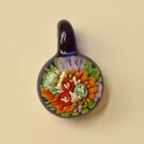 Angie McHale, Flameworking: Implosion Pendants